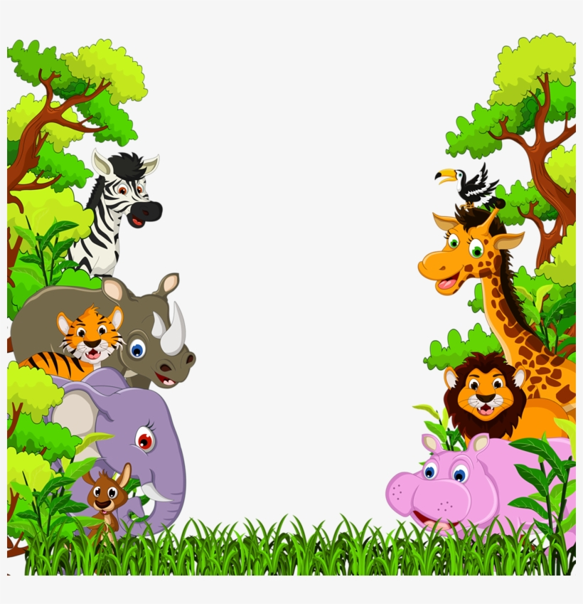 Фотки Cartoon Jungle Animals, Baby Cartoon, Safari.