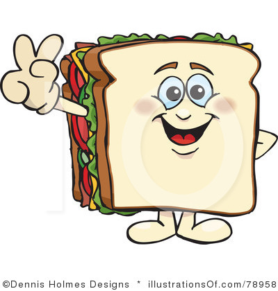 Sandwich face.