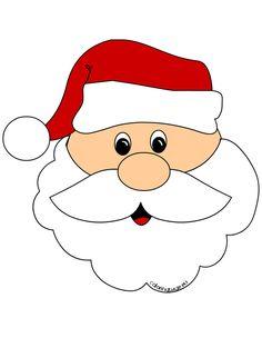 7 Best Santa Face images.