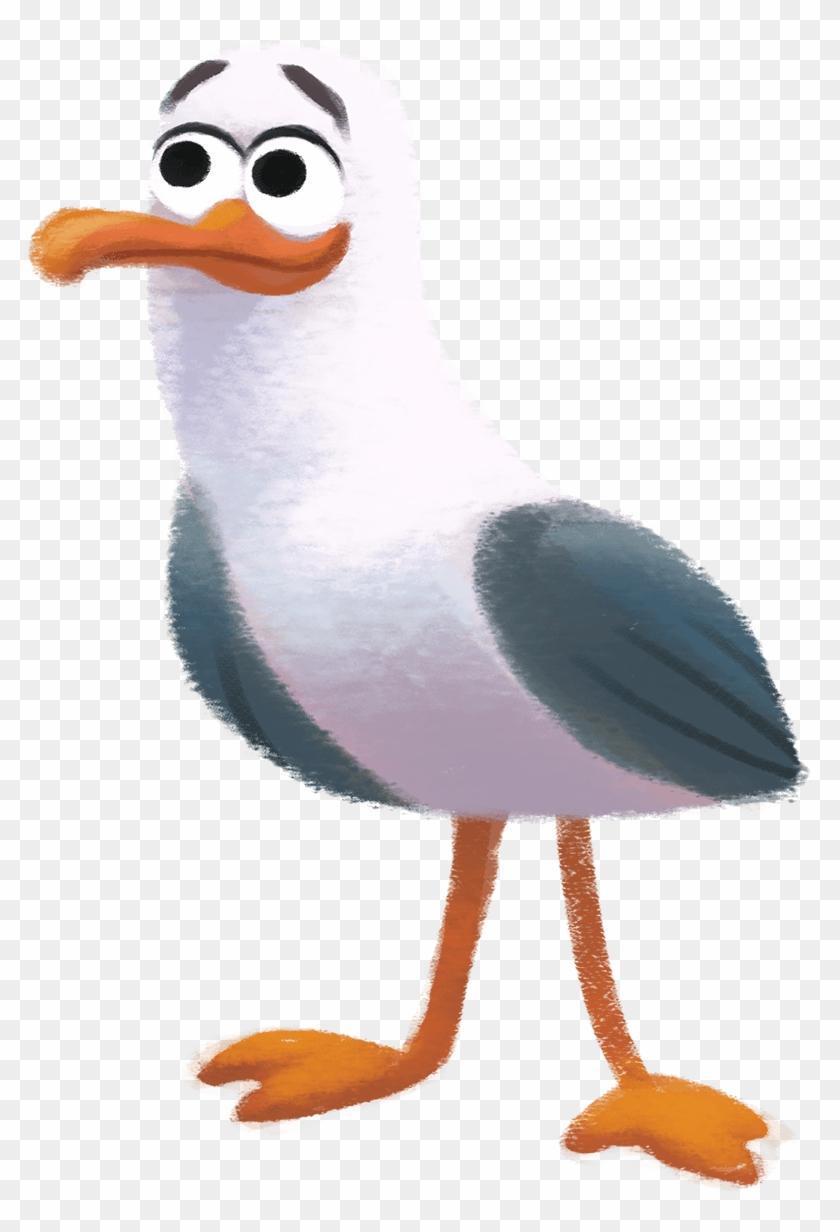 Seagull Clipart Ariel.