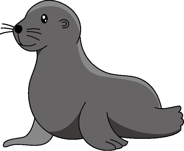 Sea Lion Clipart.