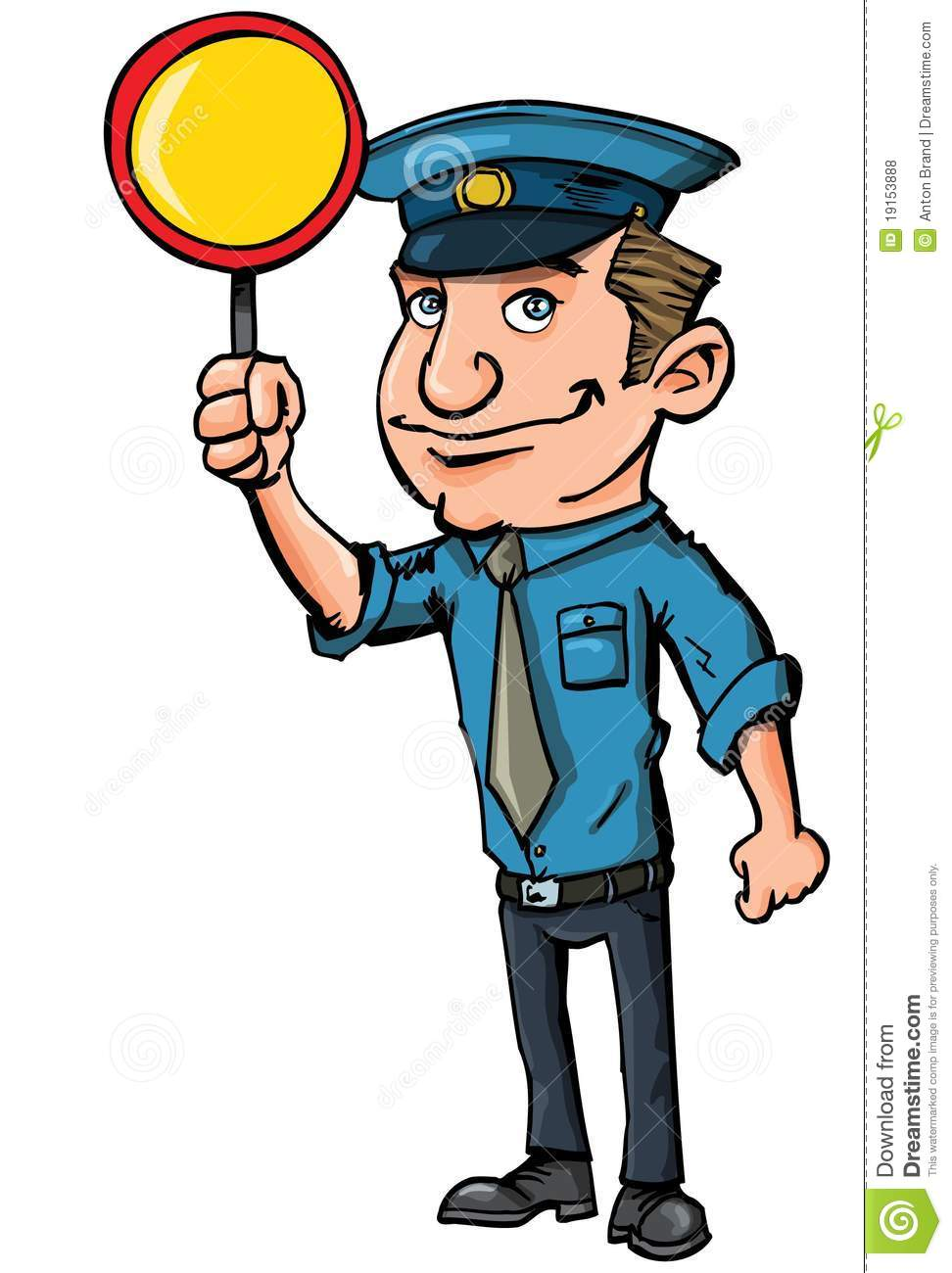242 Security Guard free clipart.