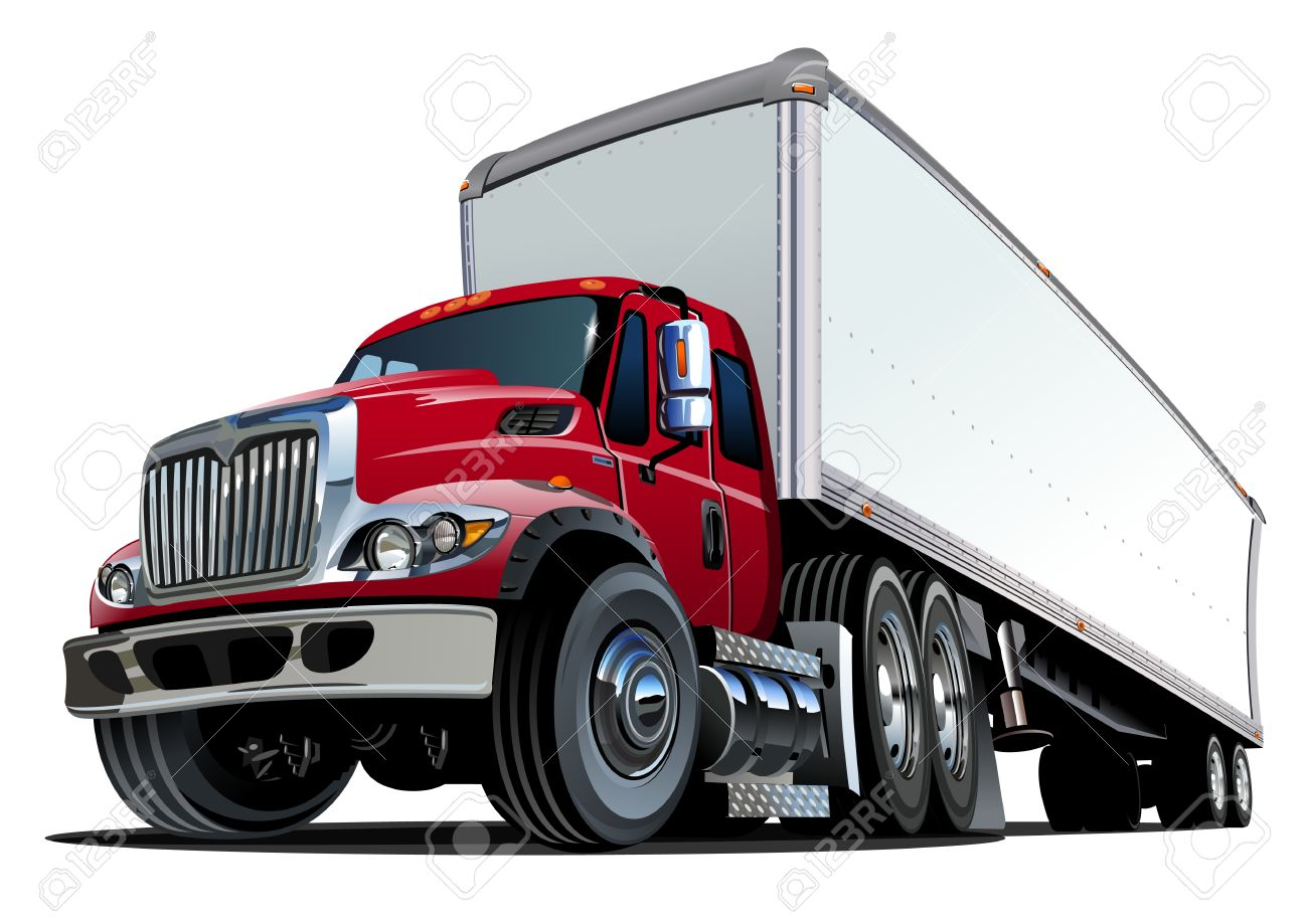 3,739 Semi Truck Stock Illustrations, Cliparts And Royalty Free.