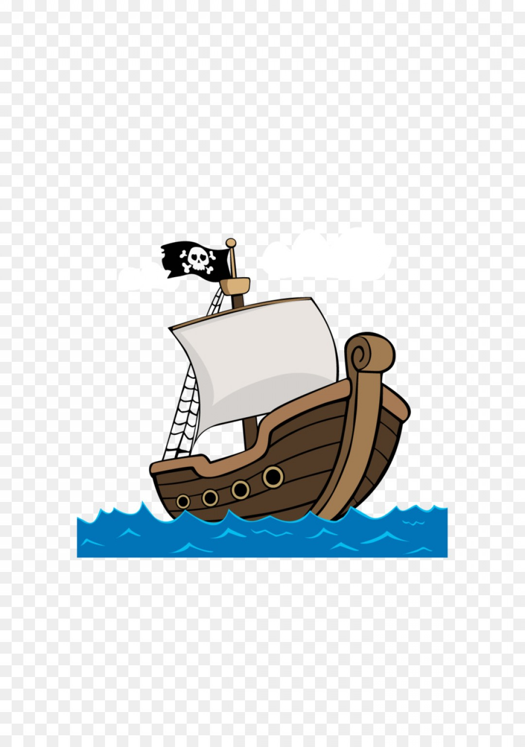Png Cartoon Ship Piracy Vector Pirate Ship.