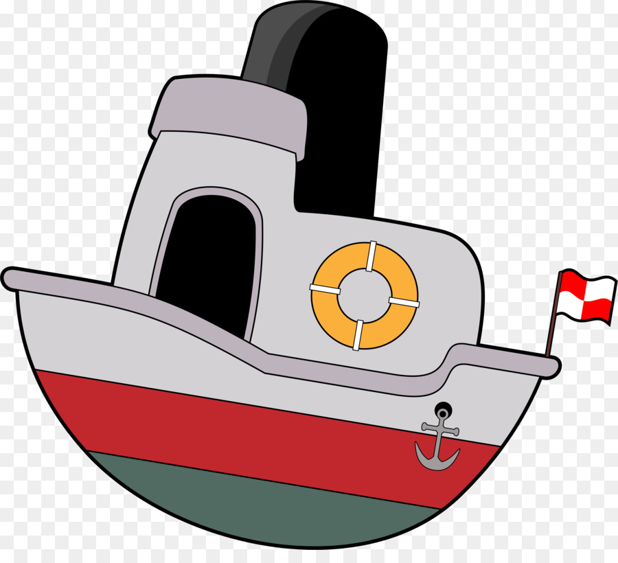 Shining Clip Art Boat Agreeable Cartoon Ship Png Download 3689 3284.