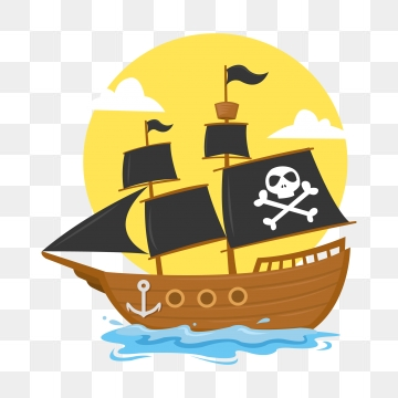 Pirate Ship PNG Images.