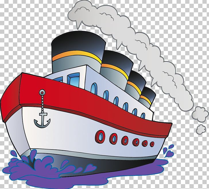 Cartoon Boat Ship PNG, Clipart, Boat, Canvas Print, Cartoon.