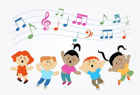 3,945 Girl Singing Stock Illustrations, Cliparts And Royalty Free.