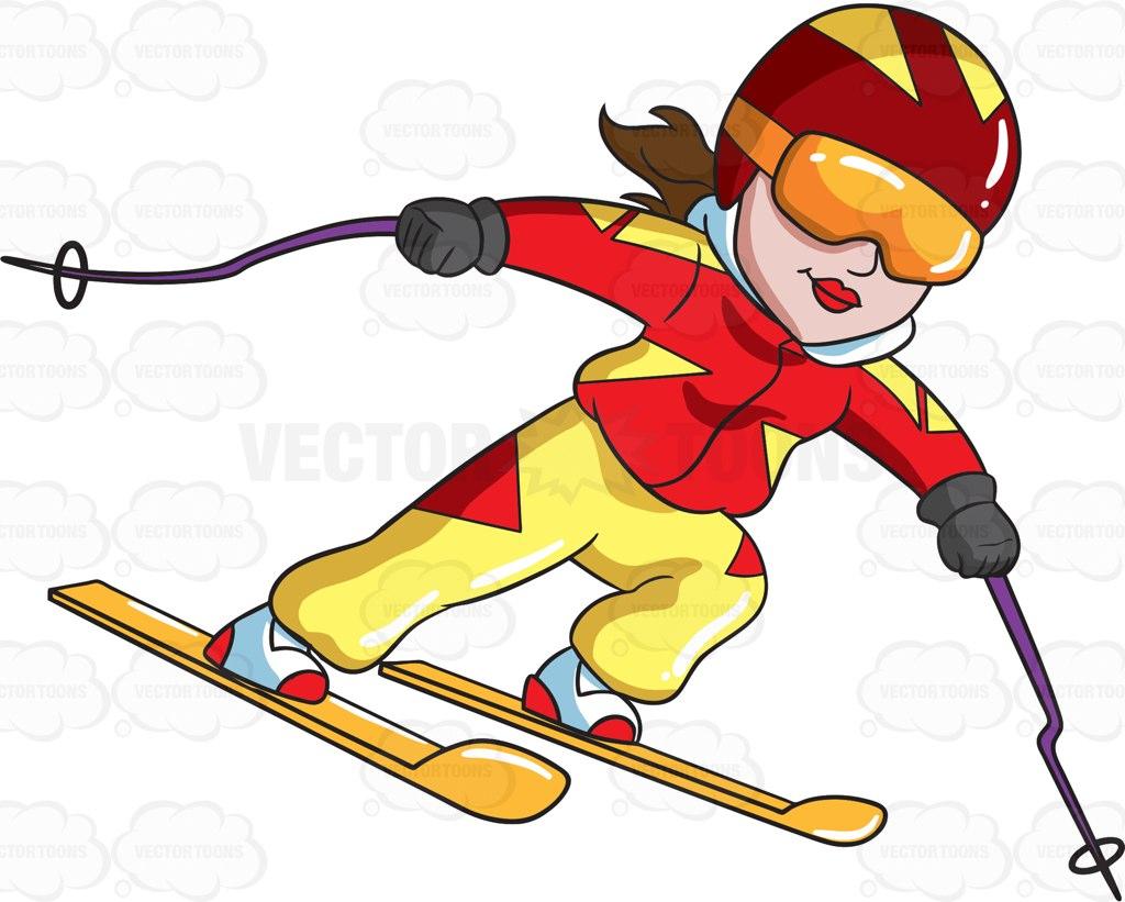 Skiing Clipart at GetDrawings.com.