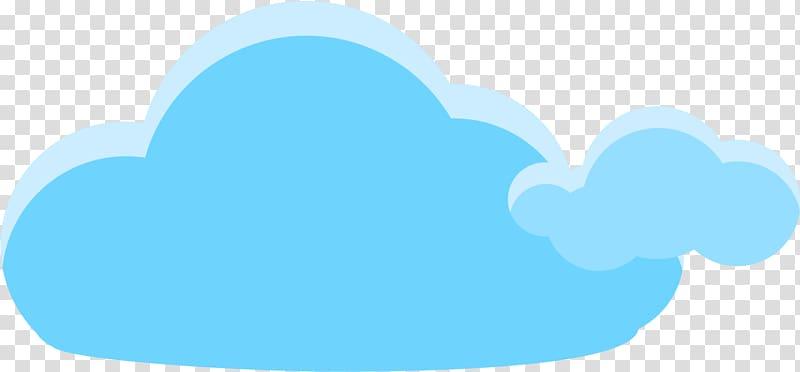 Blue cloud illustration, Sky , Blue cartoon clouds.