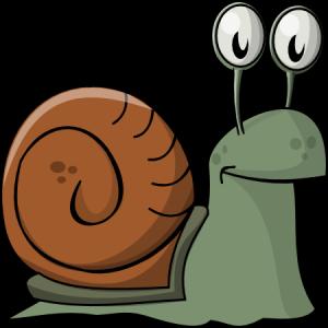 Free Cartoon Snail Clip Art.