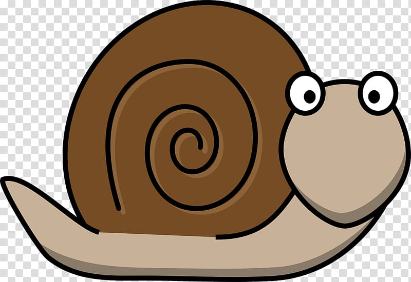 Snail Cartoon Molluscs , Snail transparent background PNG clipart.