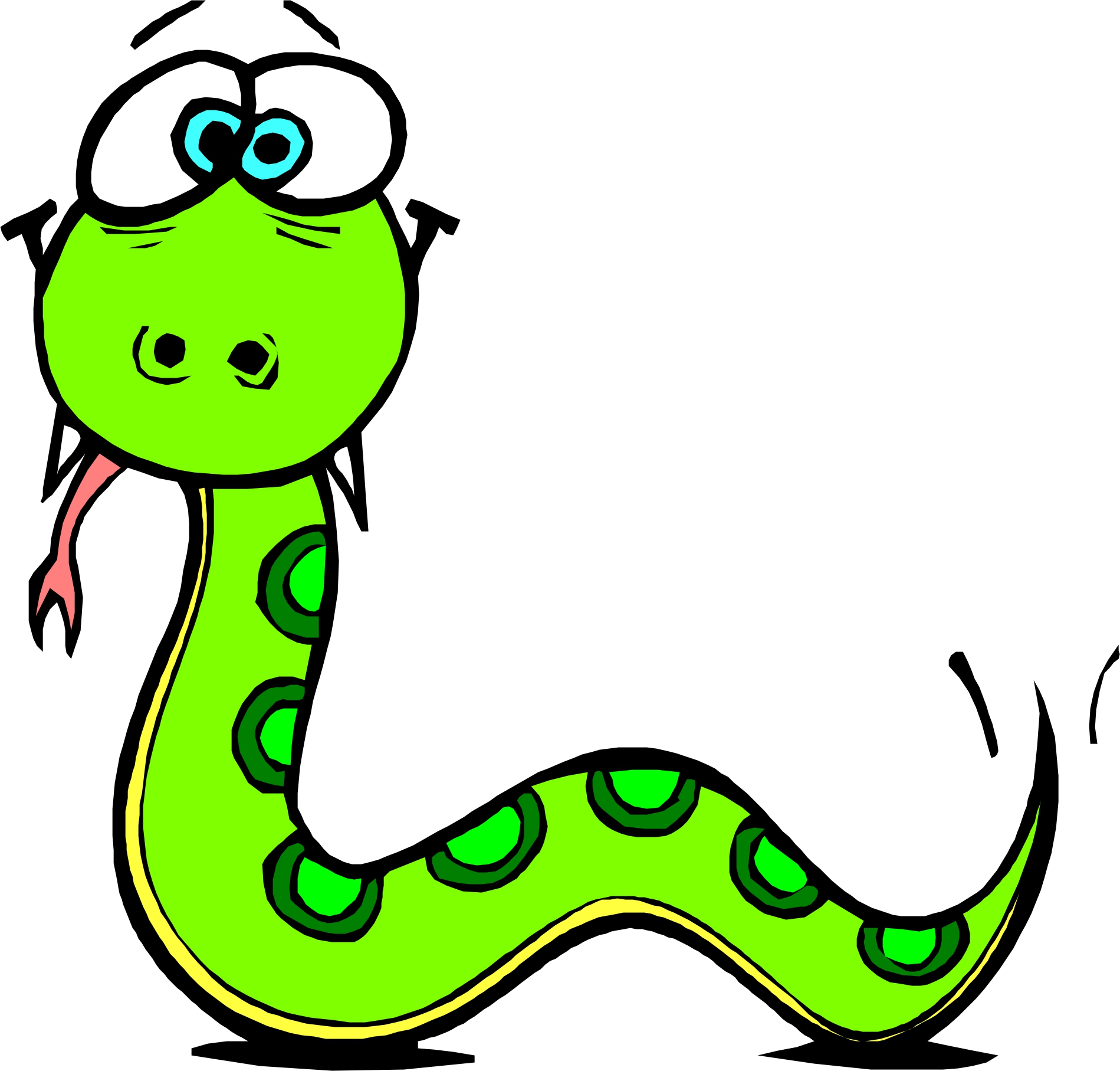 Free Cartoon Snakes Pictures, Download Free Clip Art, Free Clip Art.