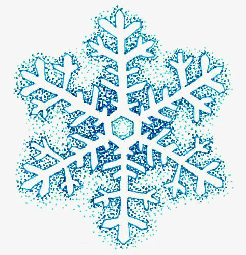 Cartoon Snow, Cartoon Clipart, Snowflake, Creative Snowflakes PNG.