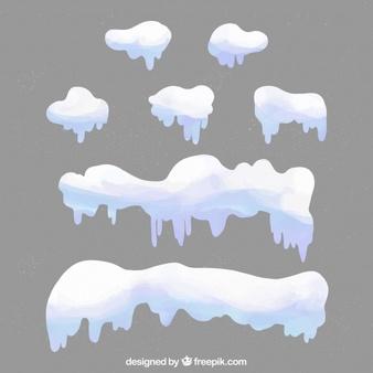 Snow Caps Vectors, Photos and PSD files.