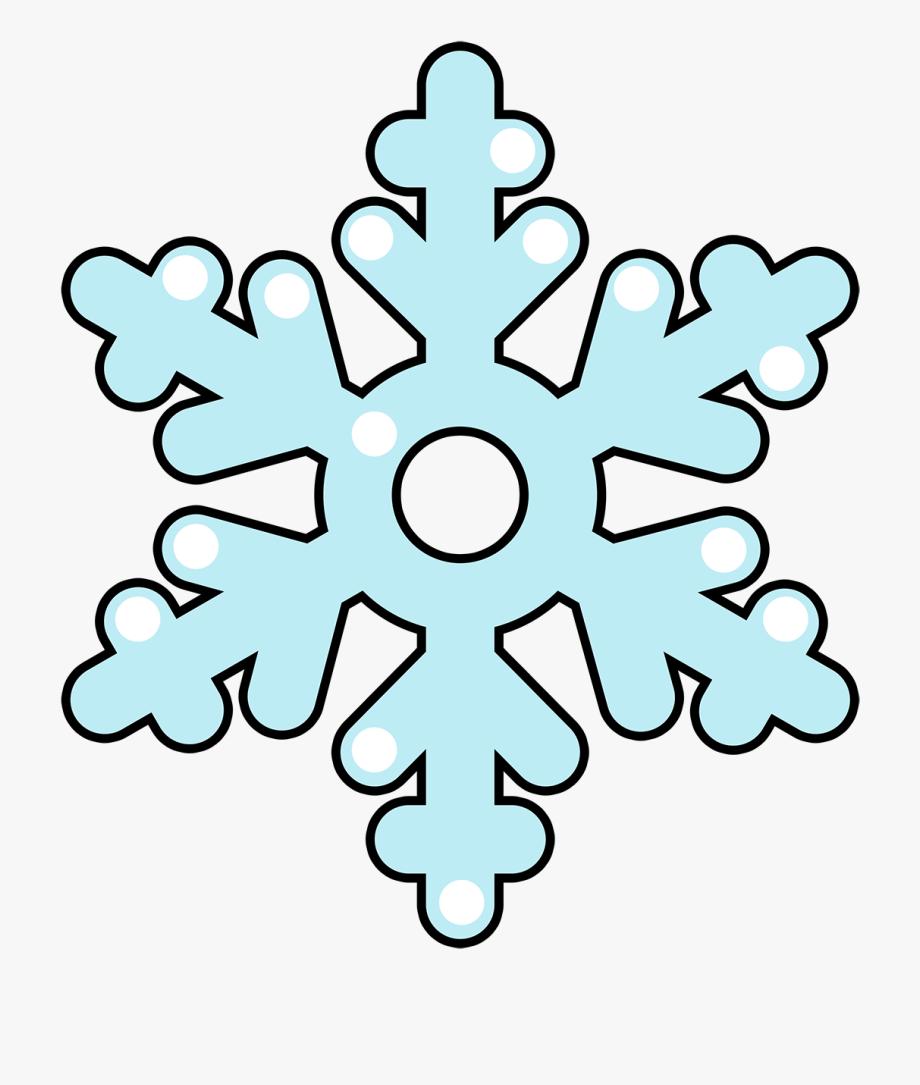 Free To Use &, Public Domain Snowflakes Clip Art.