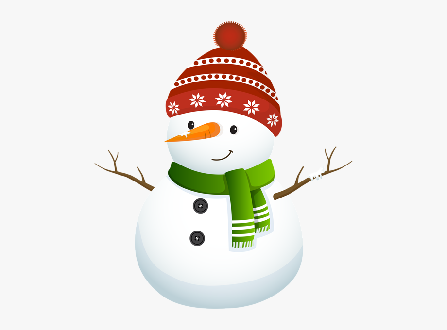 Cartoon Snowman Clipart Png.