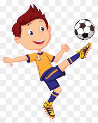 Cartoon Soccer No Background.