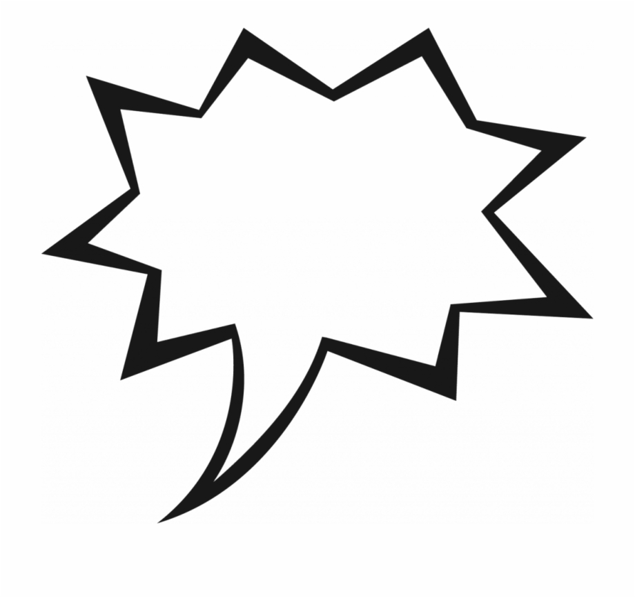 Comic Book Speech Bubble Clipart 9 Clip Art.