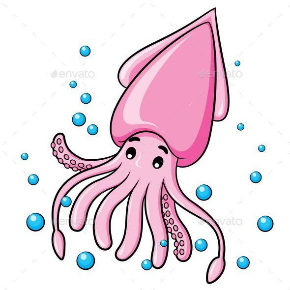 Squid Cartoon in 2019.