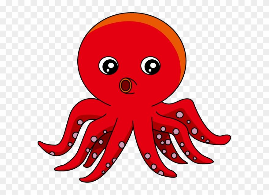 Squid Clipart Octopus Clipart.