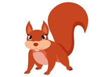 Free Squirrel Clipart.