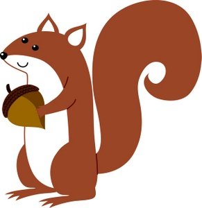 Squirrel clipart free clipart images 4.