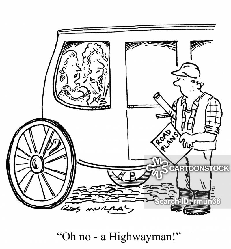Stagecoaches Cartoons and Comics.