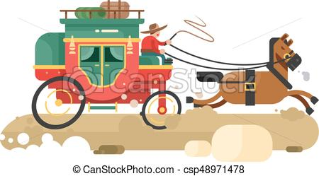 Stagecoach Illustrations and Clipart. 295 Stagecoach royalty free.