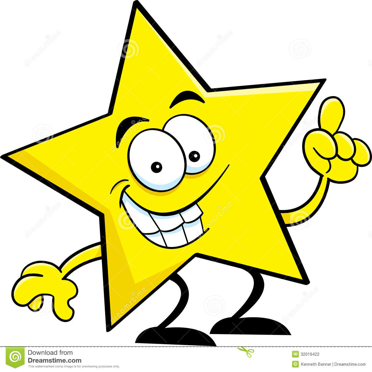 Images Of Cartoon Stars Clipart.