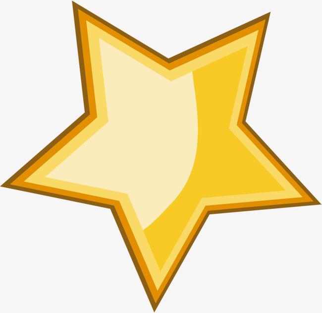 Yellow Cartoon Stars, Cartoon Clipart, Yellow Star, Cartoon Logo PNG.