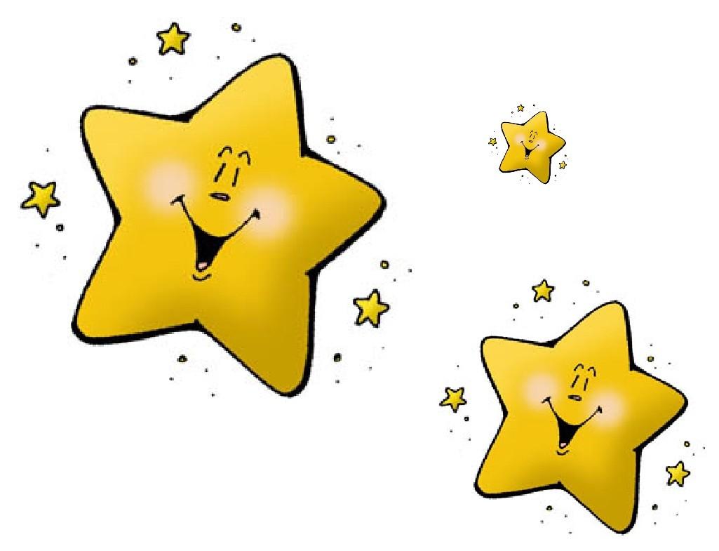 Cartoon stars clipart 2 » Clipart Station.