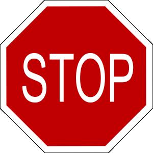Stop Sign 1 Clip Art at Clker.com.