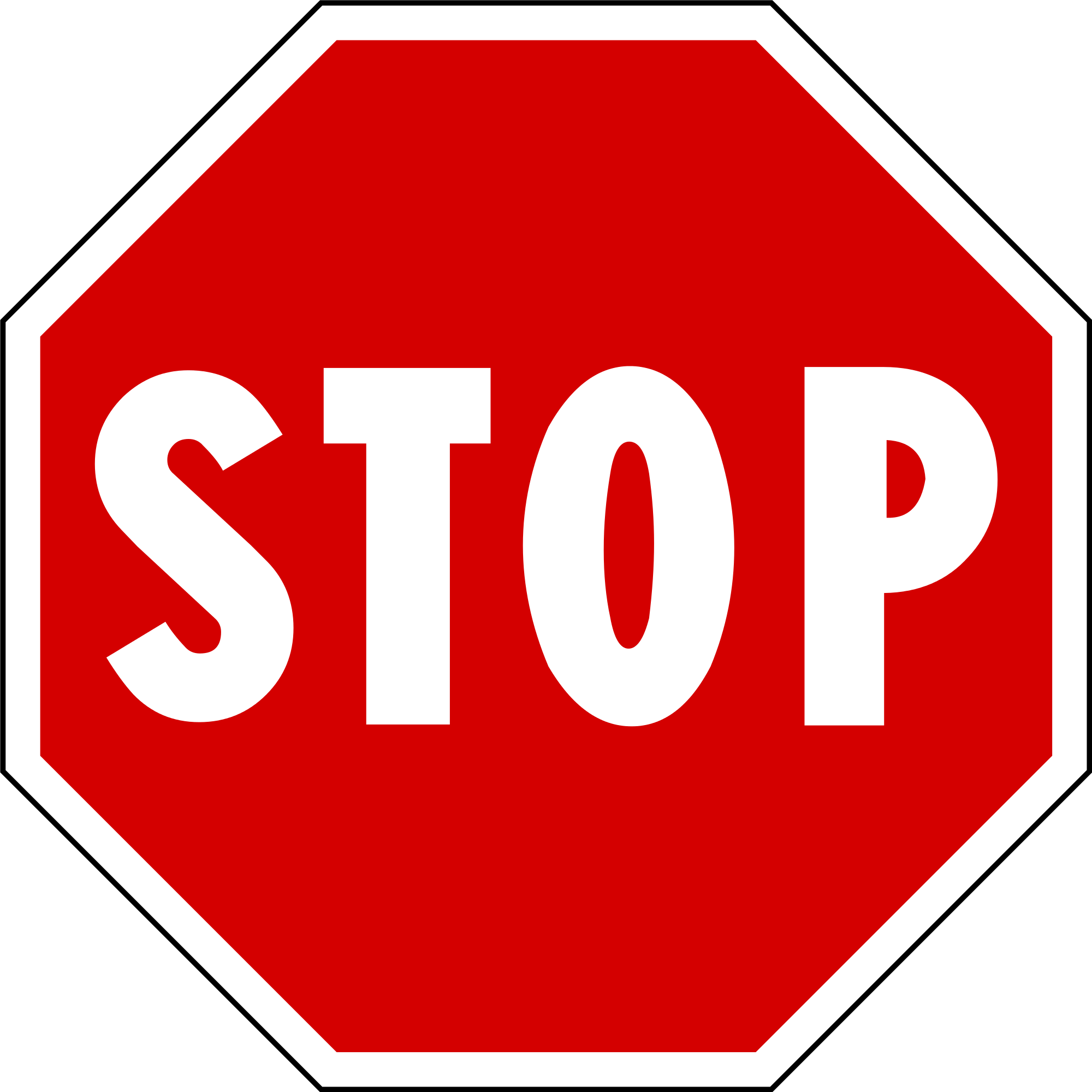 Stop Sign Clipart At Getdrawings.