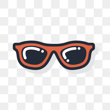 Cartoon Sunglasses PNG Images.
