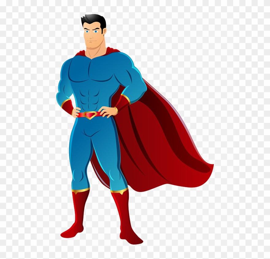 Cartoon Superman Png Photo.