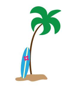 Clipart Surfboard.