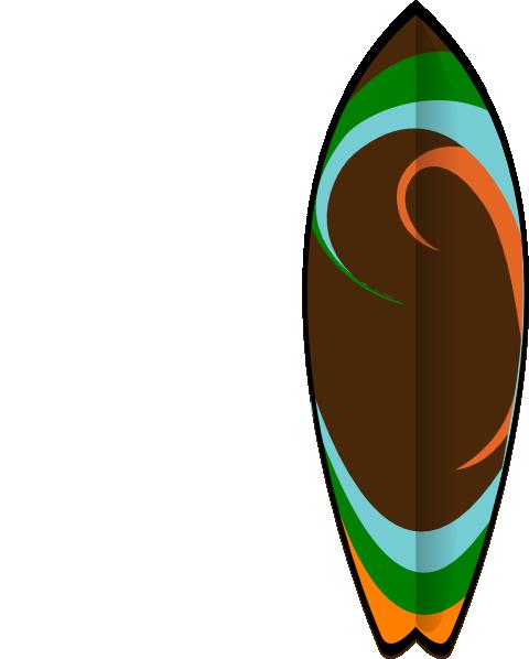 Cartoon Surfboards.