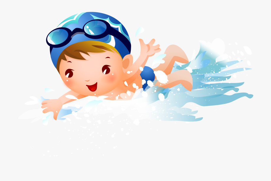 Kids Swimming Clipart Png , Transparent Cartoon, Free.