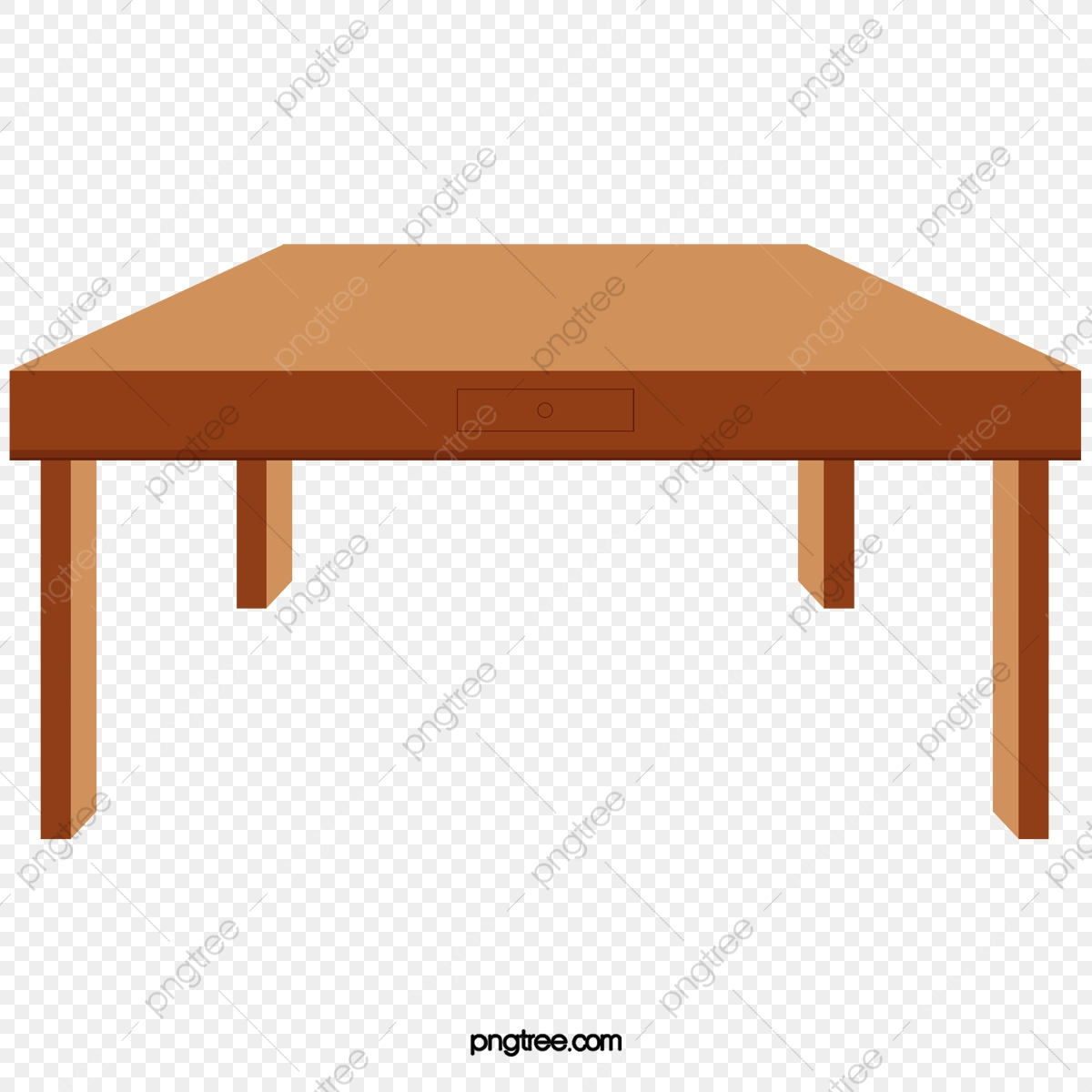 Wooden Table, Cartoon, Table PNG Transparent Clipart Image and PSD.