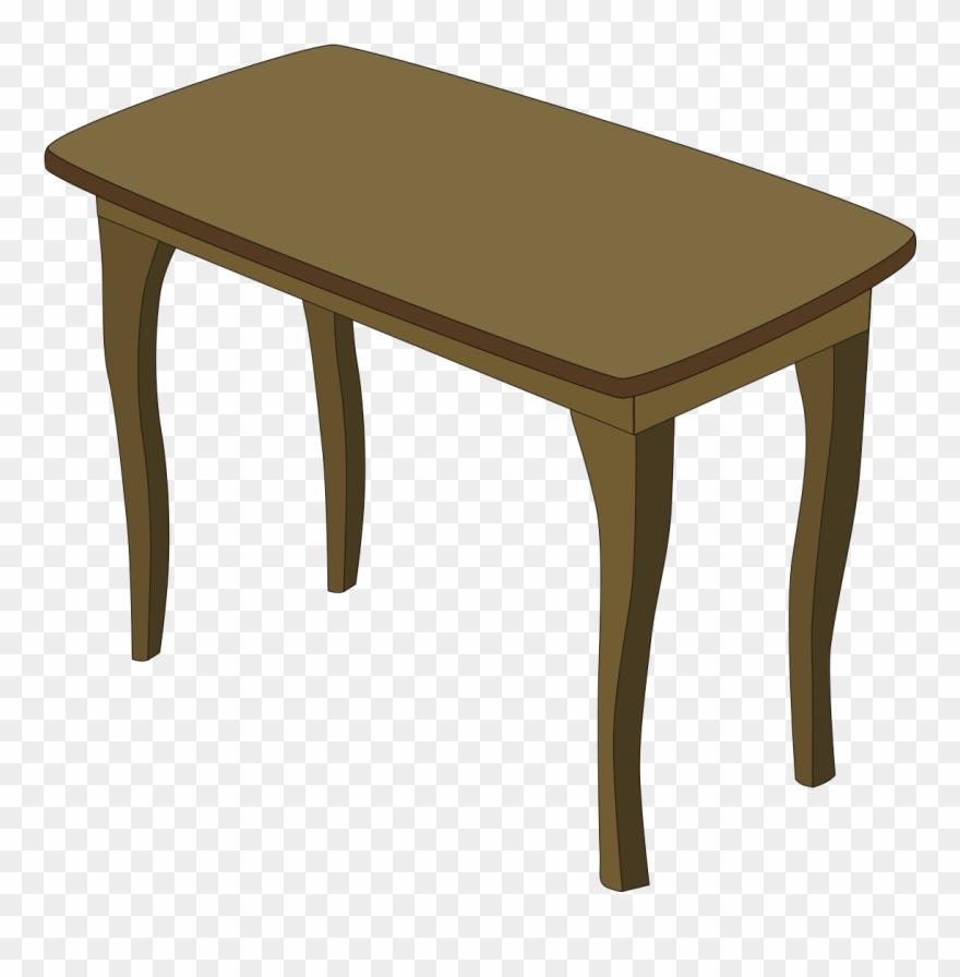 Table Bedroom Furniture Clip Art.
