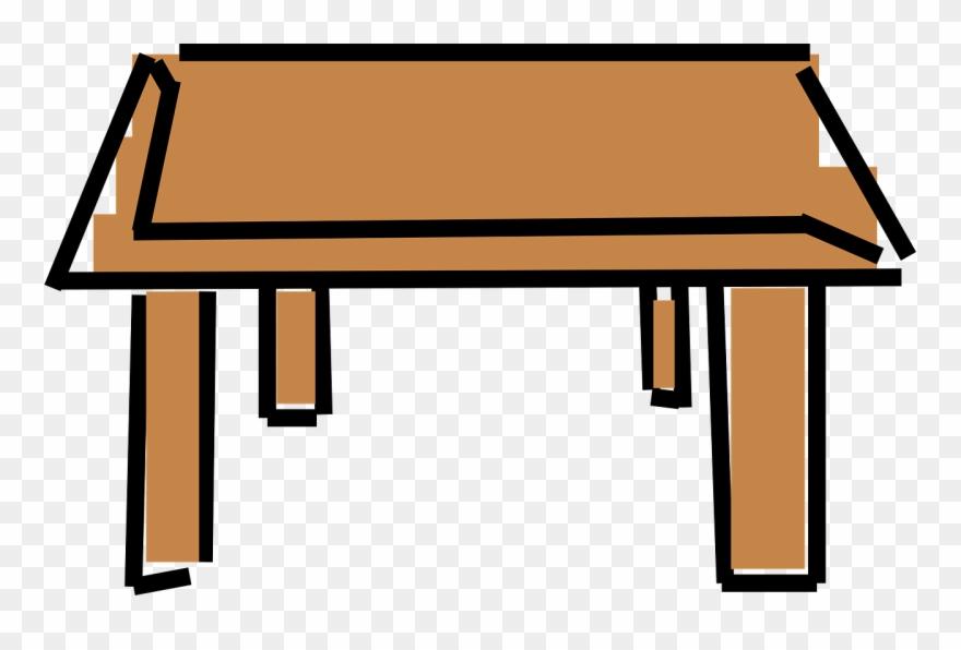 Table Clipart Cartoon.