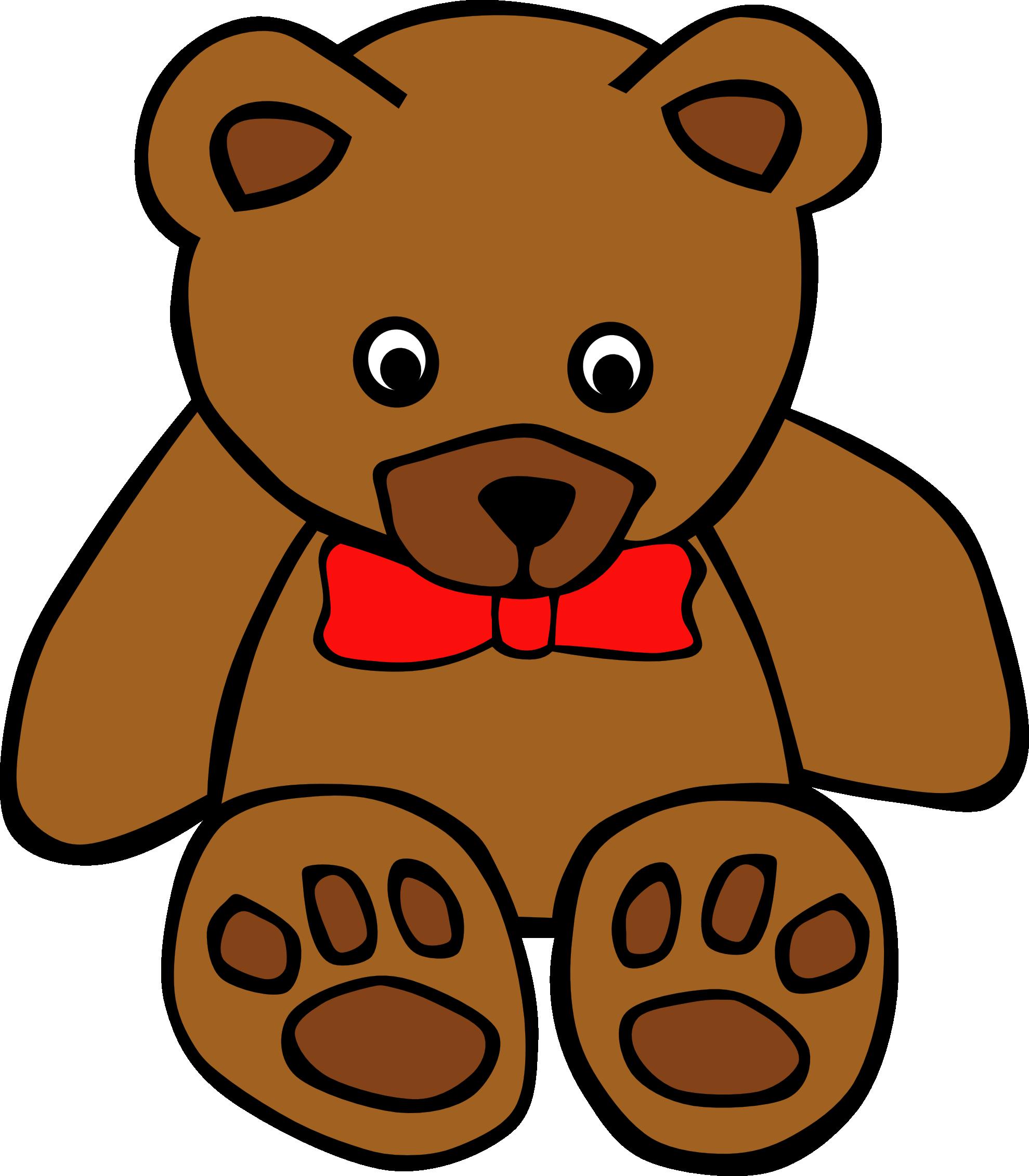 Cartoon Teddy Bear Clipart.