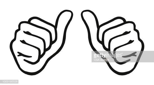 40 Both Thumbs Up Stock Illustrations, Clip art, Cartoons & Icons.