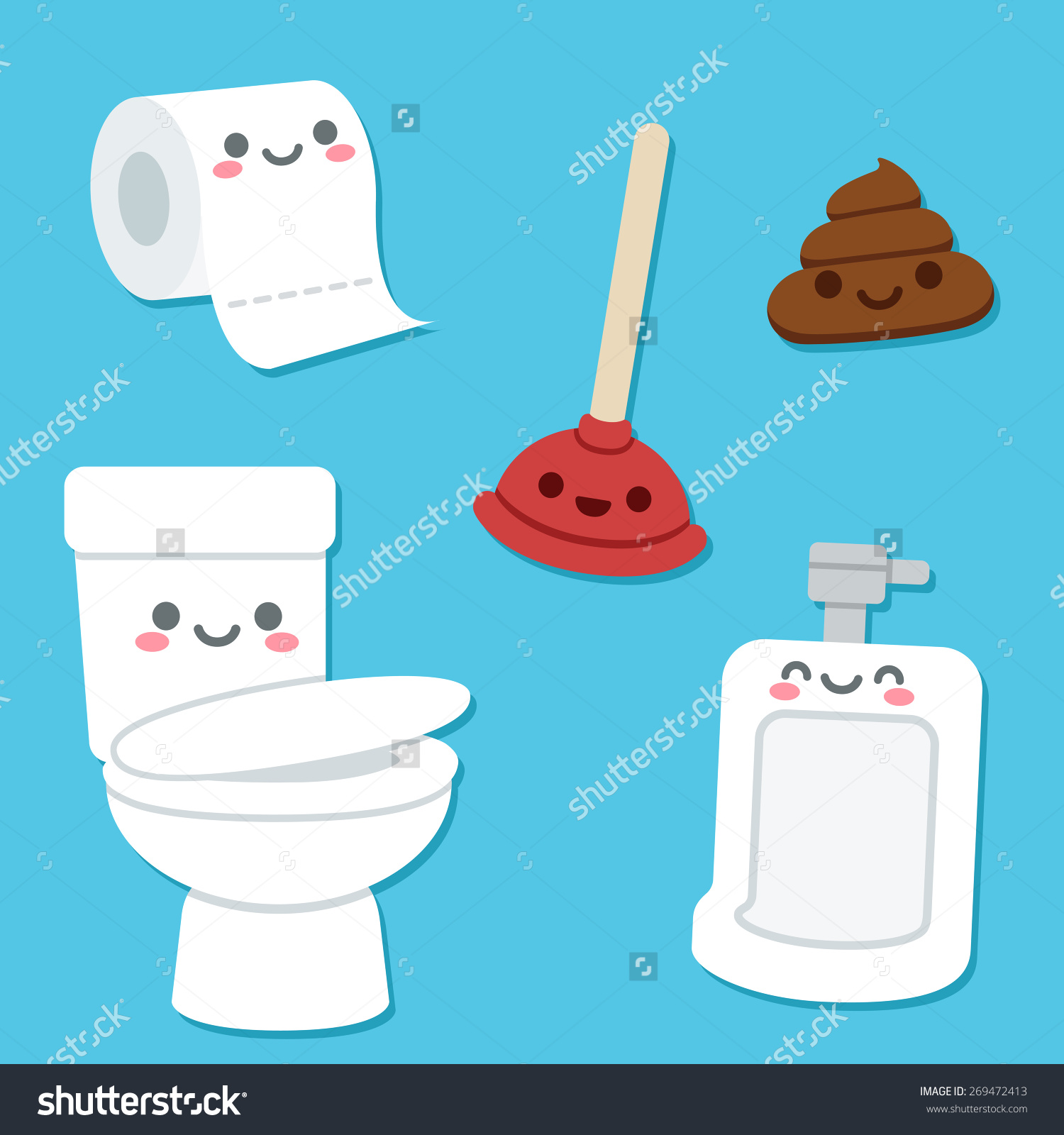 Free Cute Toilets Cliparts, Download Free Clip Art, Free Clip Art on.