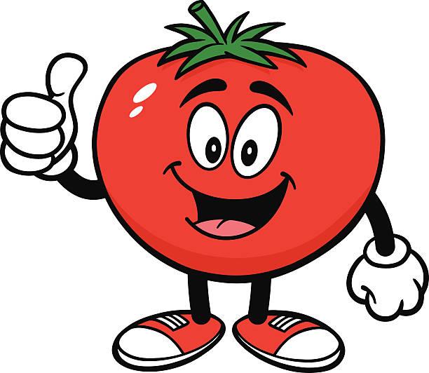 Best Cartoon Tomato Illustrations, Royalty.