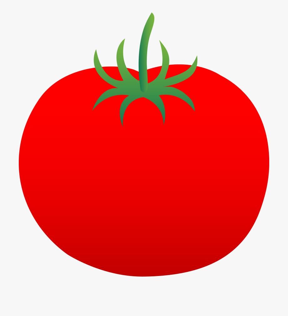 Whole Ripe Red Tomato.