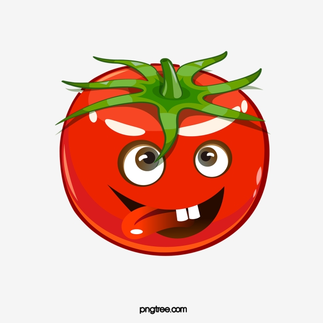 Cartoon Tomatoes, Cartoon Clipart, Tomato, Red PNG Transparent.