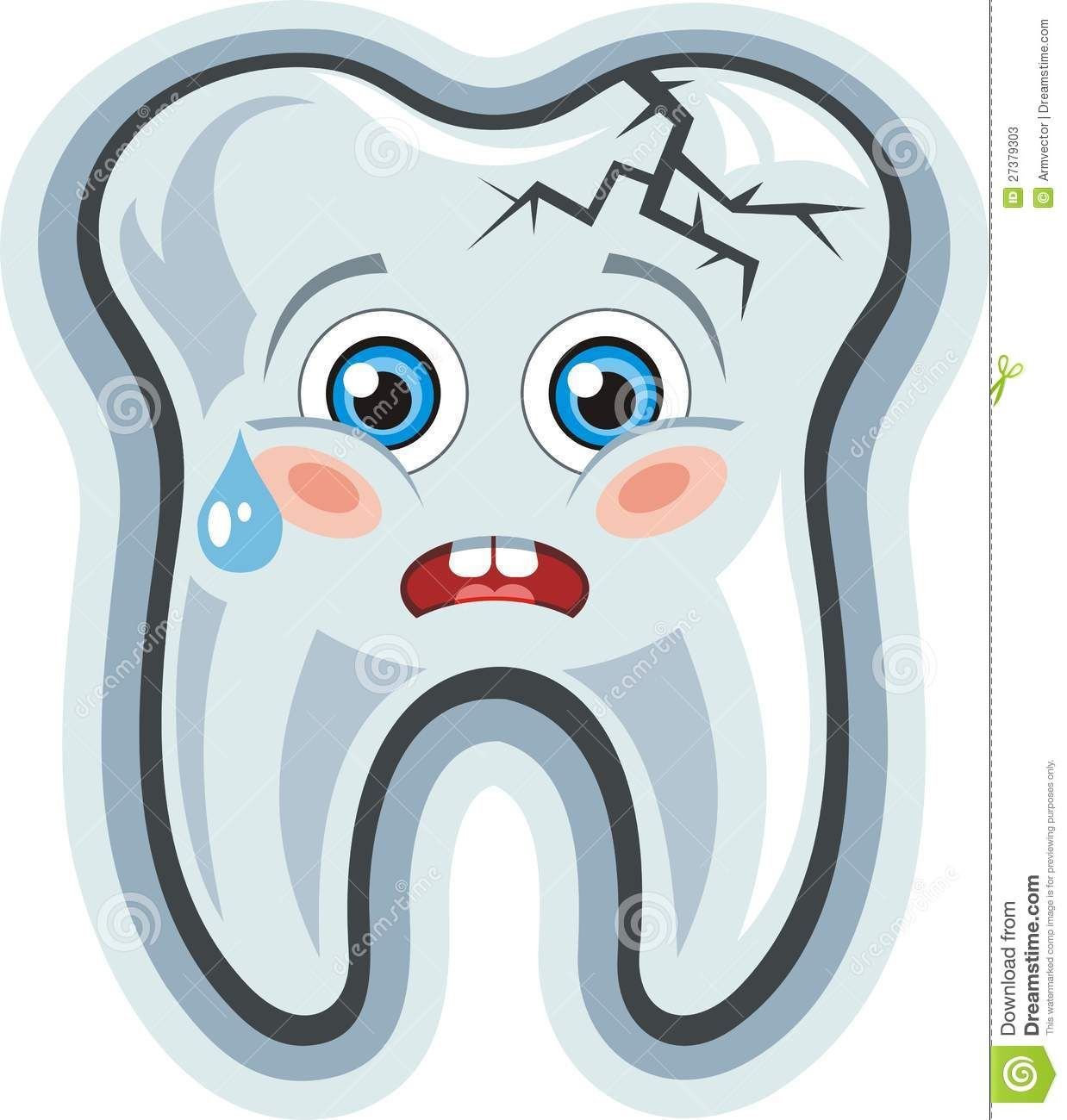 Happy Tooth Clip Art.
