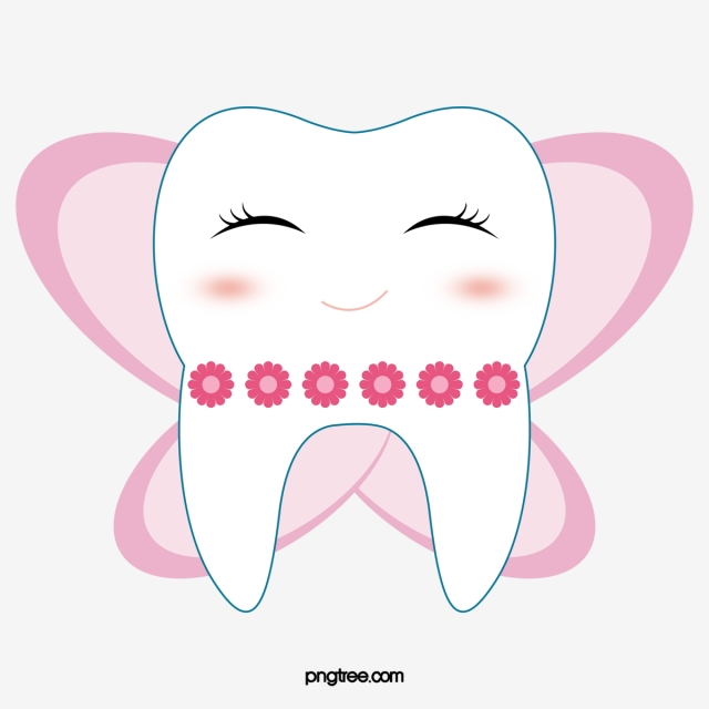 Cartoon Tooth PNG Images.